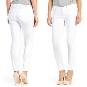 Paige Verdugo White ankle skinny 25 GUC distressed